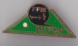 PIN'S THEME BILLARD   FFBI    BILYOP - Billard