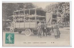 MILITARIA -WW1- GUERRE 14 & 18 --AMBULANCE AUTOMOBILE-- ECRITE 1915 - Guerre 1914-18