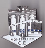 PIN'S THEME TRANSPORT  BUS  SMTU  DE MONTPELLIER - Transports
