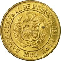 Monnaie, Pérou, 10 Soles, 1980, Lima, TB+, Laiton, KM:272.2 - Pérou