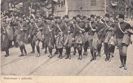 Makedonci Macedonians Marching Sokolski Slet Prag 1912 - Macédoine