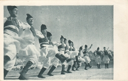 Macedonia Folklore Folk Dance Costume Postcard - Macédoine
