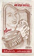 BUVARD(LION NOIR) ENCAUSTQUE - Buvards, Protège-cahiers Illustrés