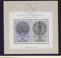 ISLANDE 1983  BLOC  NORDIA 84 YVERT N°B5 NEUF MNH** - Island