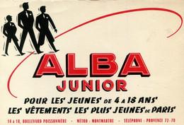 BUVARD(VETEMENT) ALBA JUNIOR - Buvards, Protège-cahiers Illustrés