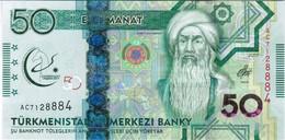 Turkmenistan - Pick 40 - 50 Manat 2017 - Unc - Commemorative - Turkmenistan