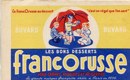 BUVARD(PATISSERIE) FRANCORUSSE - Buvards, Protège-cahiers Illustrés