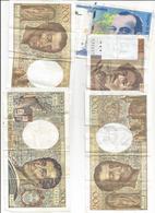 BANCONOTE FRANCIA FUORI CORSO 750 FRANCHI COME DA FOTO - Treasury