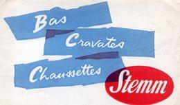 BUVARD(CRAVATTE_BAS_CHAUSSETTE) STEMM - Buvards, Protège-cahiers Illustrés