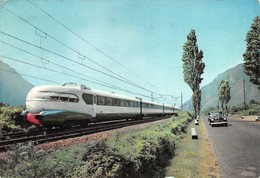 """07542 """"ELETTROTRENO ETR 300 - SETTEBELLO - FERROVIE DELLO STATO - ANNI '50"""" CART. ORIG. SPED. - Treni"""