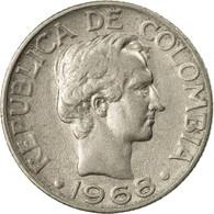 Monnaie, Colombie, 10 Centavos, 1968, TTB, Nickel Clad Steel, KM:226 - Colombie