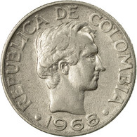 Monnaie, Colombie, 10 Centavos, 1968, TTB, Nickel Clad Steel, KM:226 - Colombia