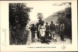 Cp Moyen Ogooue Gabun, Voyage En Monorail Dans L'Ile D'Alembé, Afrikaner, Kolonialist - South Africa