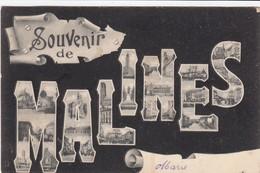 MECHELEN / SOUVENIR DE MALINES   1905 - Mechelen