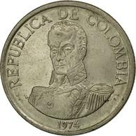 Monnaie, Colombie, Peso, 1974, TB+, Copper-nickel, KM:258.1 - Colombie
