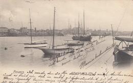 ANTWERPEN / DE SCHELDE EN ZICHT OP DE STAD  1902 - Antwerpen