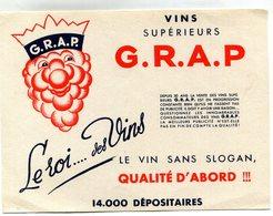 BUVARD(VIN) GRAP - Buvards, Protège-cahiers Illustrés