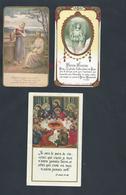 3 IMAGES PIEUSE EGLISE SAINT JEAN BAPTISTE A ESBLY : - Images Religieuses