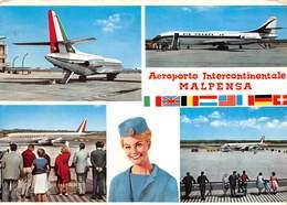 """07546 """"AEROPORTO INTERNAZIONALE DELLA MALPENSA"""" CART. ORIG. SPED. 1981 - Aerodromi"""