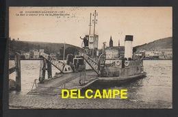 DD / 76 SEINE MARITIME / CAUDEBEC-EN-CAUX / LE BAC À VAPEUR PRIS DE LA RIVE GAUCHE / CIRCULÉE EN 1931 - Caudebec-en-Caux