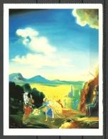 Germany 1996 Art Kunst Salvador DALI Sent From GERMANY 1999 - Peintures & Tableaux