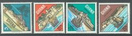GHANA - 1967 - MNH/** - CASTLES  - Yv 274-277 - Lot 17902 - Ghana (1957-...)