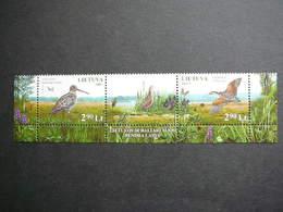 Nature Of The Sanctuaries Of Chepkeliai And Kotra.Birds Lietuva Litauen Lituanie Litouwen Lithuania 2007 MNH #Mi. 949/0 - Lituanie