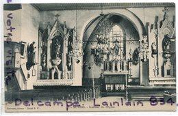 - 2 - NOYERS - ( Marne ), Intérieur De L'Eglise, Ancienne, Peu Courante, écrite, TTB, Scans. - Autres Communes