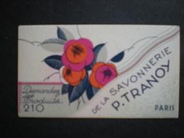 CARTE PARFUMEE - Savonnerie TRANOY Paris - Cartes Parfumées