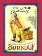 CPM  La Maison Du Biscuit. Ets Burnouf.   Sortosville En Beaumont (50) - Advertising