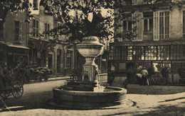 TOULON  Vieille Fontaine Commerces Attelage RV Rdit Leon Barra - Toulon