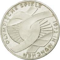 Monnaie, République Fédérale Allemande, 10 Mark, 1972, Hambourg, SUP, Argent - [ 7] 1949-…: BRD