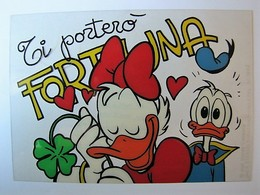 DISNEY - Donald Duck And Daisy (carte Transparente) - Other