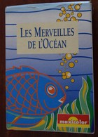 Jeu De Cartes 7 Familles LES MERVEILLES De L'OCEAN Maxicolor Poisson Requin Dauphin Phoque Cachalot Oursin Raie  Carte - Autres Collections