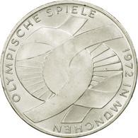 Monnaie, République Fédérale Allemande, 10 Mark, 1972, Munich, SUP+, Argent - [ 7] 1949-…: BRD