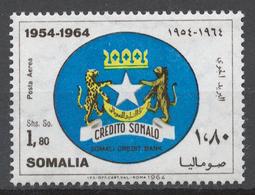 Somalia 1964 Mi# 59** SOMALI CREDIT BANK, 10th ANNIV. - Somalie (1960-...)