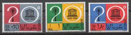 Somalia 1966 Mi# 96-98** UNESCO, 20th ANNIV. - Somalie (1960-...)