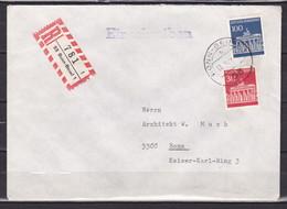 BRD, MiNr. 510 (+508) Auf Portoger. Brief Von Bonn-Beuel Nach Bonn; B-861 - Covers & Documents