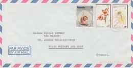 Vanuatu Lettre De 1985 Pour La France - Vanuatu (1980-...)