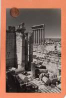 CPSM 14 X 9   * * BAALBECK * * Colonnade Du Temple De Jupiter - Libano
