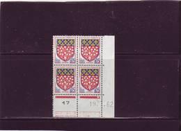 N° 1352 - 0,05F Blason D'AMIENS - B De  A+B - 1° Tirage Du 5.7.62 Au 4.8.62 - 19.07.1962 - - 1960-1969
