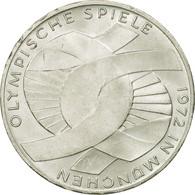 Monnaie, République Fédérale Allemande, 10 Mark, 1972, Munich, SUP, Argent - [ 7] 1949-…: BRD