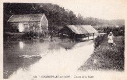 1106 - Cpa 14  Courseulles Sur Mer - Un Coin De La Seulles - Courseulles-sur-Mer