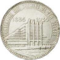 Monnaie, Belgique, 50 Francs, 50 Frank, 1935, SUP, Argent, KM:106.1 - 1934-1945: Leopold III