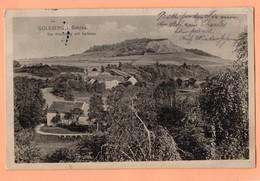 ALLEMAGNE - CPA DE 1915 - GOLDBERG I SCHIES - DER WOLFSBERG MIT SELFENAU - Goldberg