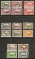 SIERRA LEONE 1938 - 1944 SET SG 188/200 FINE USED Cat £80 - Sierra Leone (...-1960)