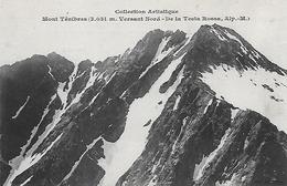 MONTAGNE 06 MONT TENEBRES - TESTA ROSSA - Alpinisme