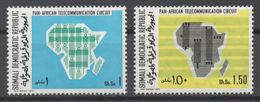 Somalia 1971 Mi# 174-75** PAN-AFRICAN TELECOMMUNICATIONS SYSTEM - Somalie (1960-...)