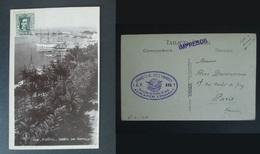 CPA ALICANTE Detalle Del Puerto Cachet Francisco Martinez Y Bardisa Espagne 1930 - Alicante