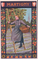 Martigny, Costume Valaisan Par Ad. Sartoretti (293) - VS Valais